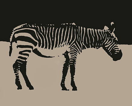 Ramona Johnston - Zebra Silhouette