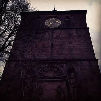 Zee Coolest Clock. #germany #castle by Ashley Millette