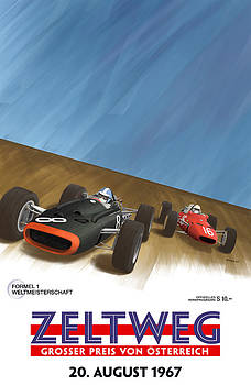 Georgia Fowler - Zeltweg Austria 1967 Grand Prix