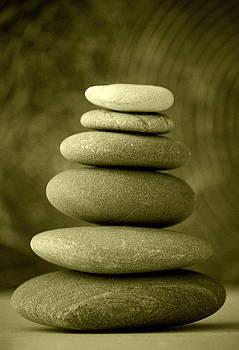 Zen Balance Sepia by Riad Belhimer