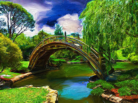 Zen Bridge by Cary Shapiro