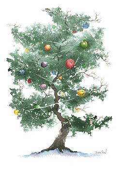Zen Christmas Tree by Sean Seal