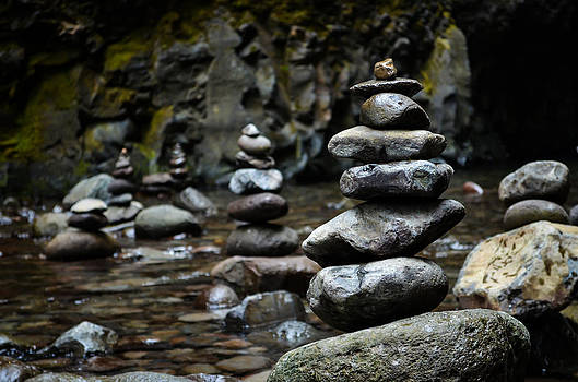 Zen Rocks by Jesse Wright