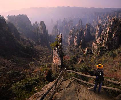 Zhangjiejia China by Weerapong Chaipuck