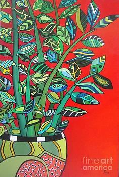Zi Zi Plant II by Deborah Glasgow