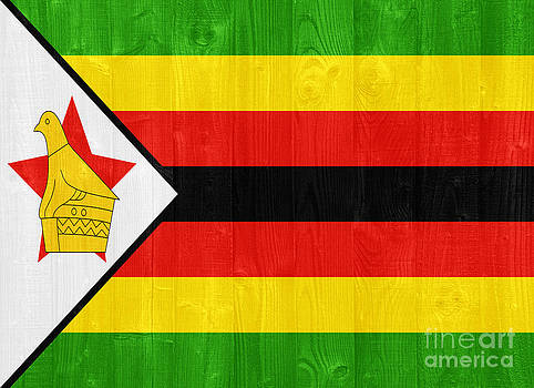 Zimbabwe flag by Luis Alvarenga