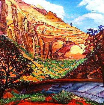 The Great Arch of Zion by Ecinja Art Works