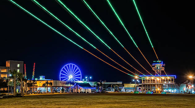 Zip Line Myrtle Beach by Donnie Bagwell