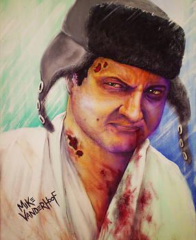 Zombie Cousin Eddie by Mike Vanderhoof