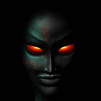 Zombie Ghost Creepy Portrait by BluedarkArt Lem