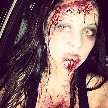 #zombie #ilovehalloween #walkingdead by Mandy Shupp