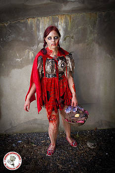 Zombie Little Red Riding Hood Dublin by David Doyle