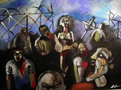 Zombie unite by Sidney Holmes