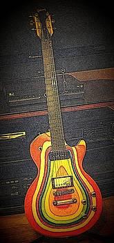 Rosemarie E Seppala - Zoot Suit Guitar II