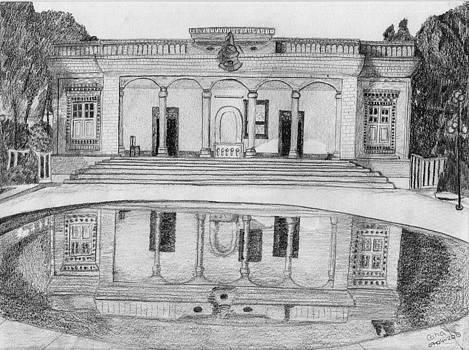 Zoroastrian Temple by Catia Silva