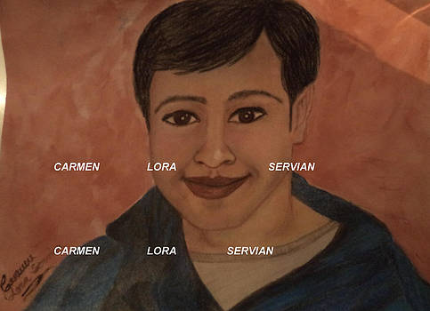 Zouhir by Mary Carmen Lora Servian