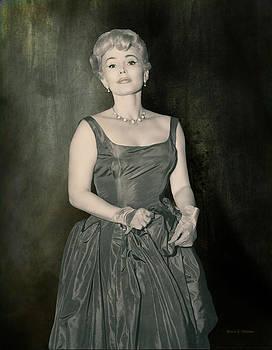 Angela A Stanton - Zsazsa Gabor in the 1950