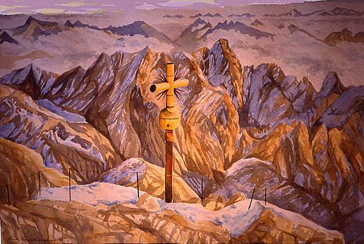 Zugspitze by Fritz Engelhardt