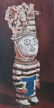 Zuni Clown by Christine Lytwynczuk