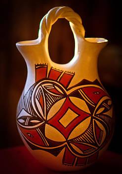 Zuni Wedding Vase by Helene Kobelnyk