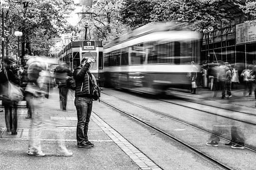 Charles Lupica - Zurich Bahnofstrasee