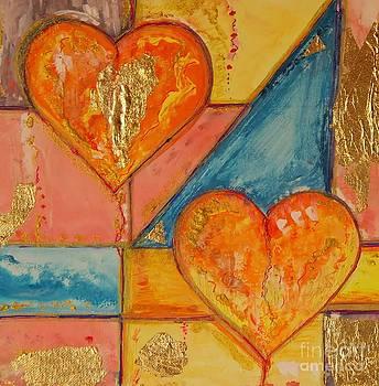 Zwei Herzen by Vera  Laake