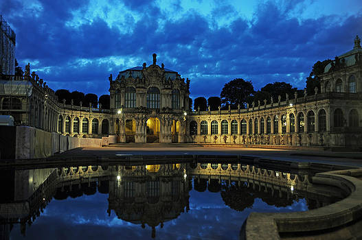 Zwinger Dresden Germany by Angela Kail