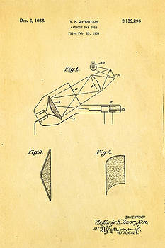 Ian Monk - Zworykin Cathode Ray Tube TV Patent Art 1938