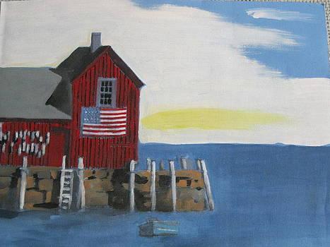 Patriotic Harbor by David Poyant