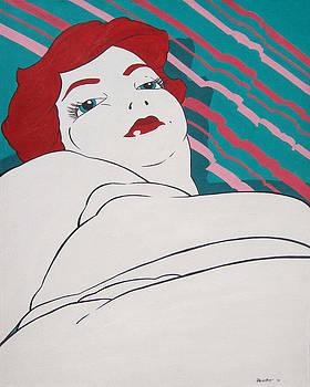 Red Headed Beauty by Juan Alcantara