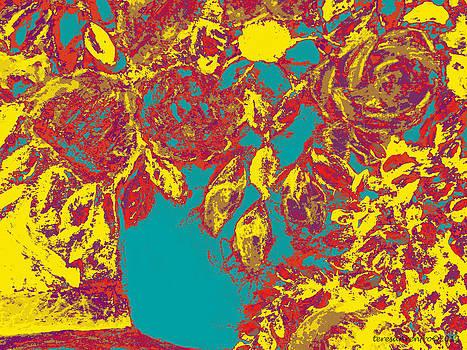 Forartsake Studio -  A Still Life Study - Vibrant Floral