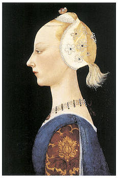 Paolo Uccello -  A Young Lady of Fashion