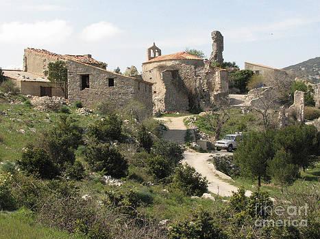 Joseph Doyle -  Ancient French belltower  castle ruins