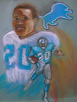 Barry Sanders by Jan Gilmore