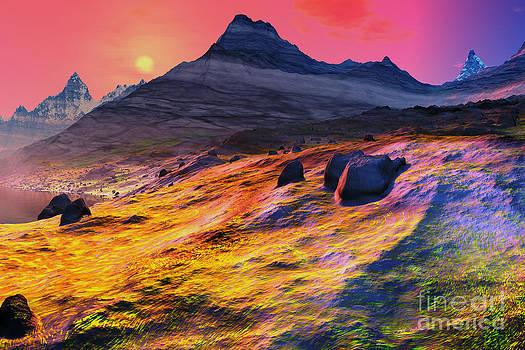 Beautiful Texas High Country by Heinz G Mielke