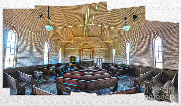 Gregory Dyer -  Bodie Ghost Town - Church 03