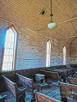 Gregory Dyer -  Bodie Ghost Town - Church 05