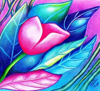 Flower   Nouveau by Monica  Vega