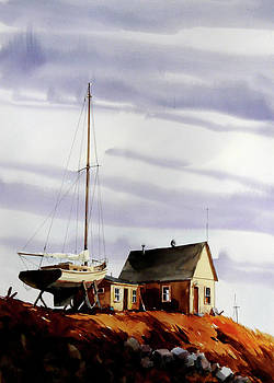 Idle Sailing by Art Scholz