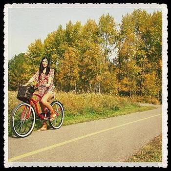 🌺 #igcanada #bike #vintage #retro by Ange Exile DuParadis