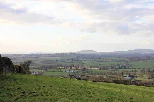 Joseph Doyle -  Irish evening landscape