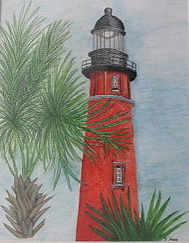 Lighthouse by Fran Haas