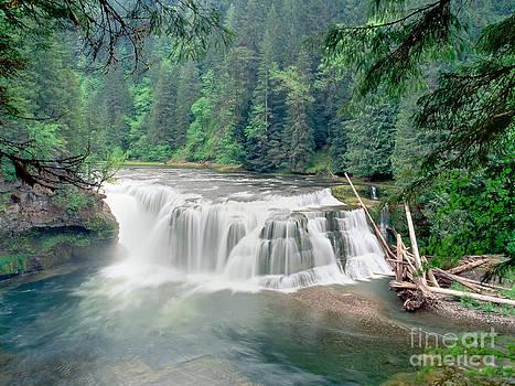 Lower Lewis Falls  by Sergey Korotkov