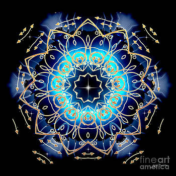 Mandala Abstract by Heinz G Mielke