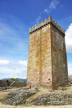 Melgaco castle  in the north of Portugal by Inacio Pires