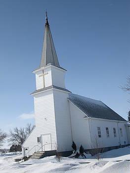 ND Prairie Church by Trish Pitts