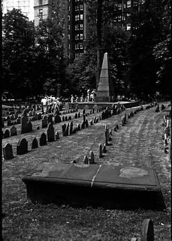 Old Boston Cemetery by Thomas D McManus