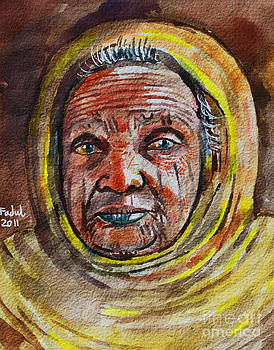 Old Woman by Mohamed Fadul