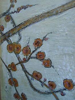 Orange Petals by Melynnda Smith