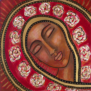 Peaceful Madonna by Mary Schilder